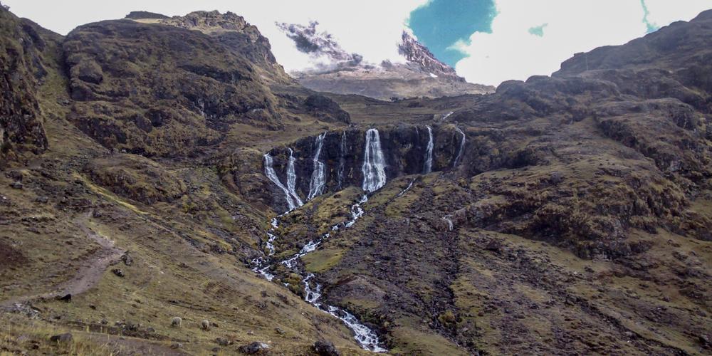 Lares waterfall