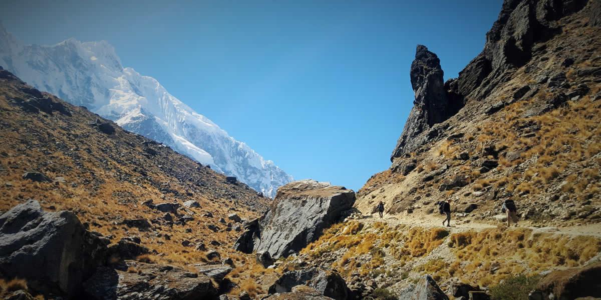 Trek To Salkantay Pass